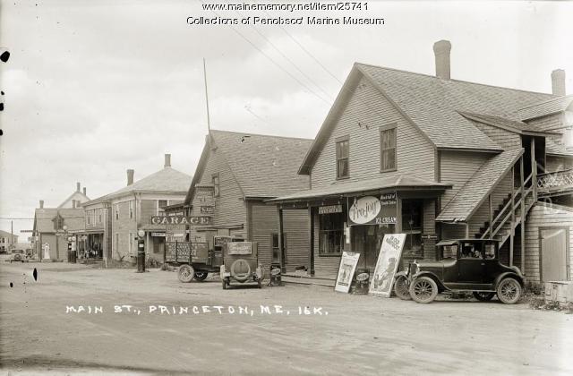 Main Street, Princeton, ca. 1927