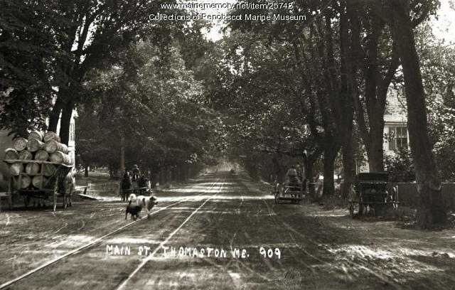 Main Street, Thomaston, ca. 1910