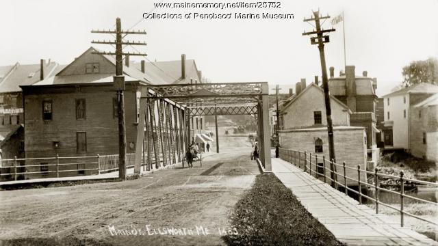 Main Street, Ellsworth, ca. 1910