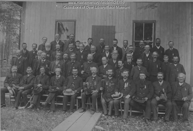 Civil War Veterans' Reunion, Ocean Park, ca. 1880