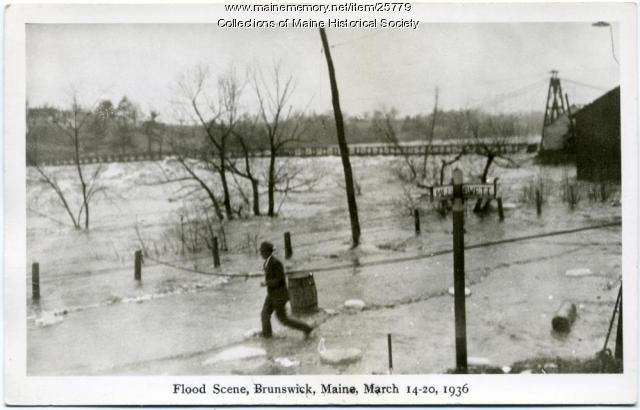 Flood in Brunswick, 1936