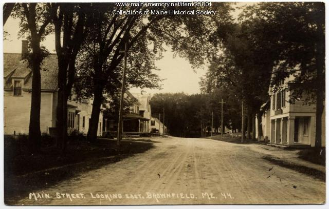 Main Street, Brownfield, ca. 1915