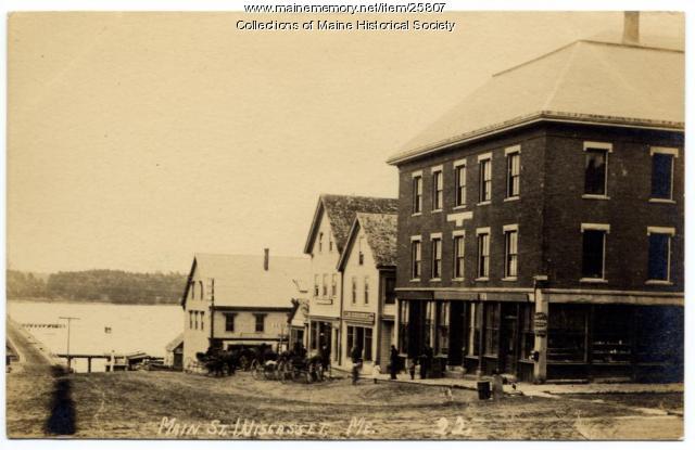 Main Street, Wiscasset, ca. 1910