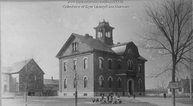 Sweetser School, Saco, ca. 1895