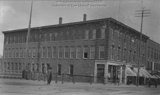 Sweetser Block, Saco, ca. 1880