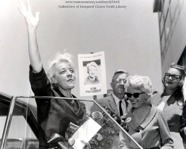 Margaret Chase Smith at Republican National Convention, 1964