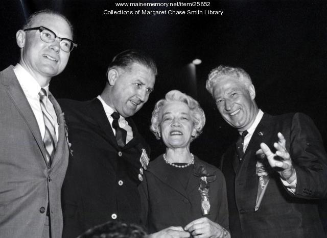 Margaret Chase Smith, John Reed, San Francisco, 1964