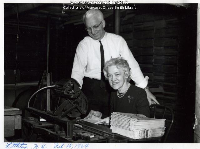 Margaret Chase Smith in Littleton, New Hampshire, 1964