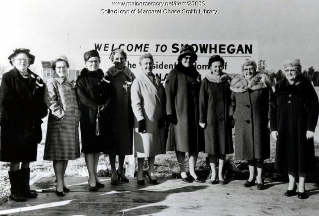 Margaret Chase Smith Day, Skowhegan, 1964