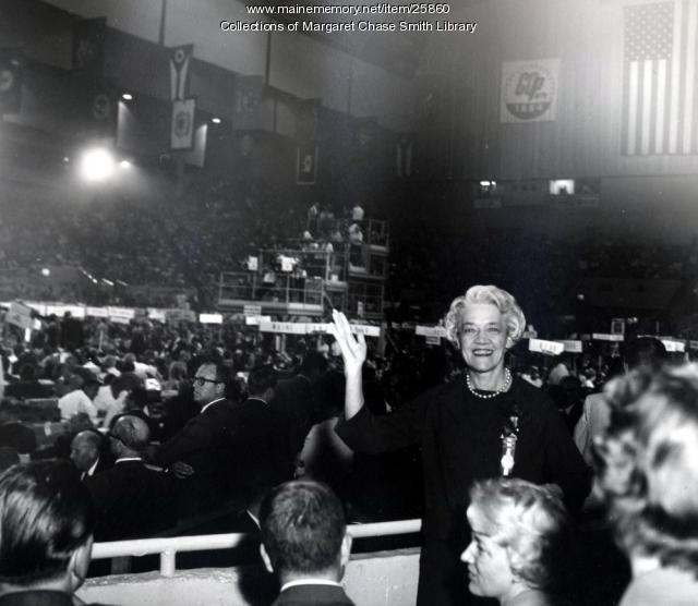 Margaret Chase Smith, San Francisco, 1964