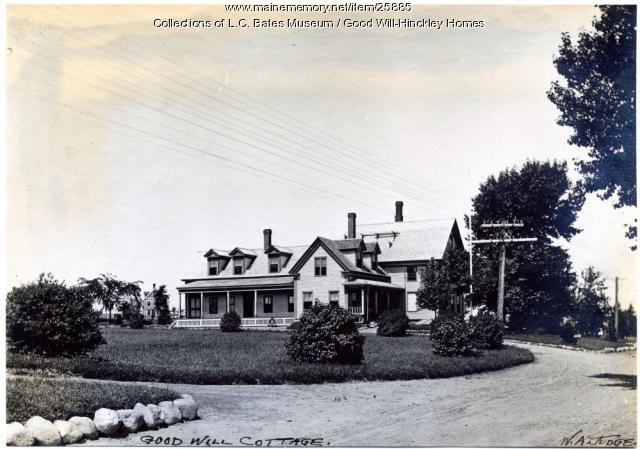 Good Will Cottage, Fairfield, 1911