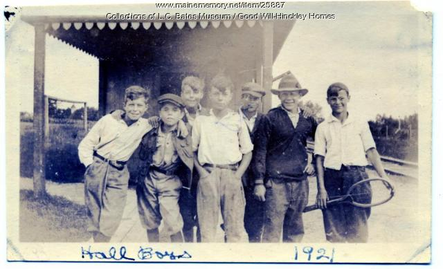 Good Will Farm boys, Fairfield, 1921