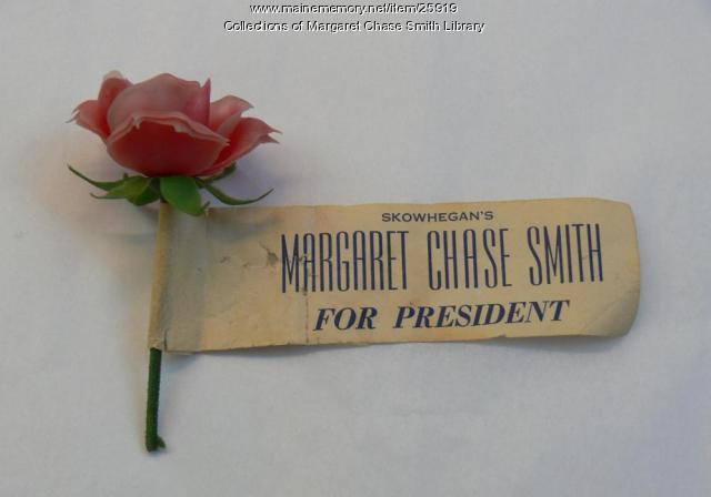 Margaret Chase Smith for President Souvenir