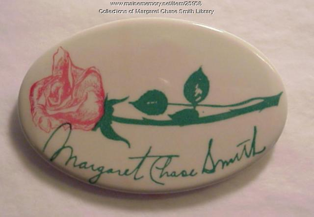 Margaret Chase Smith Campaign Button, 1964