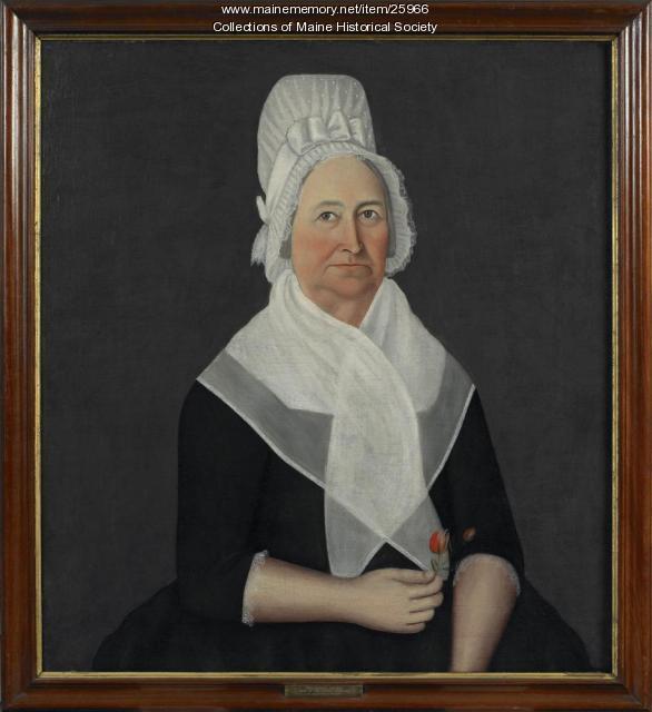 Eunice P. Deane portrait, ca. 1800