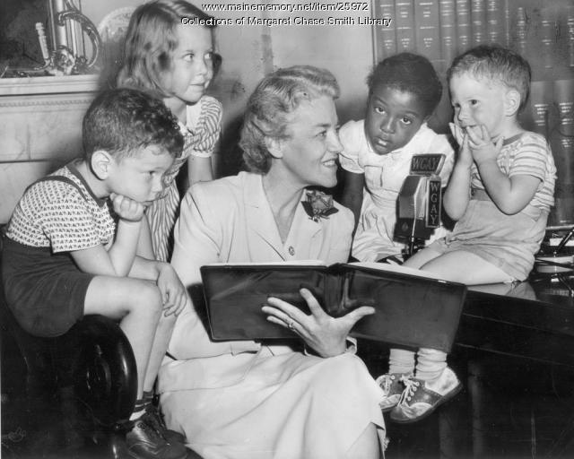"Margaret Chase Smith Reads ""The Three Bears"", Washington, D.C., 1940"