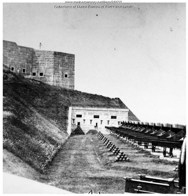 Battery A, Fort Knox, ca. 1898