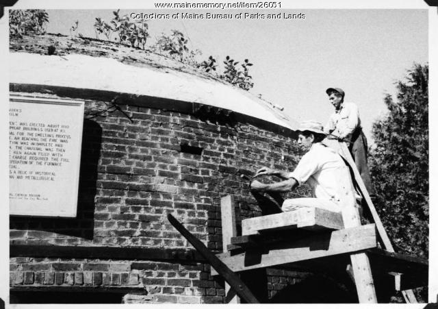 Restoring Katahdin Ironworks, 1966