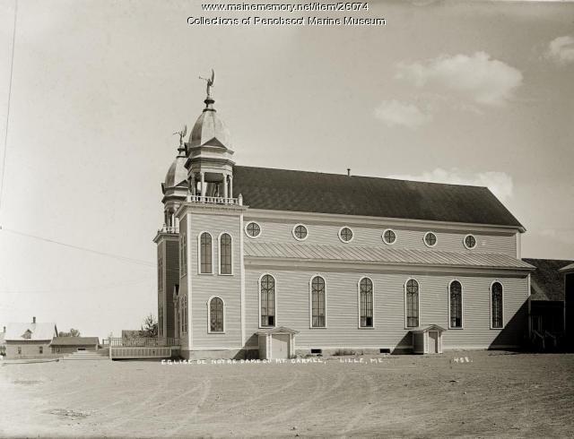 Eglise de Notre Dame Mt. Carmel, Lille, ca. 1920