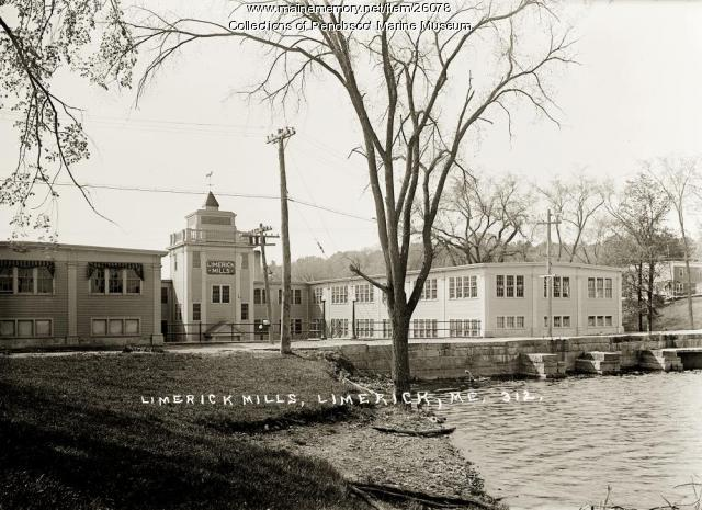 Limerick Mills, Limerick, ca. 1920