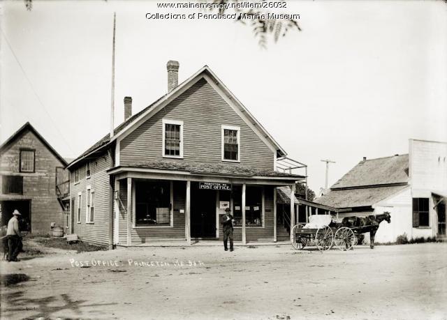 Post Office, Princeton, ca. 1915