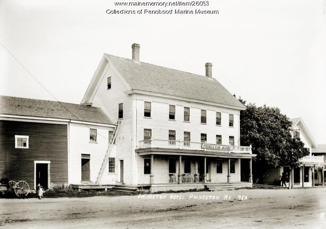 Princeton Hotel, Princeton, ca. 1915