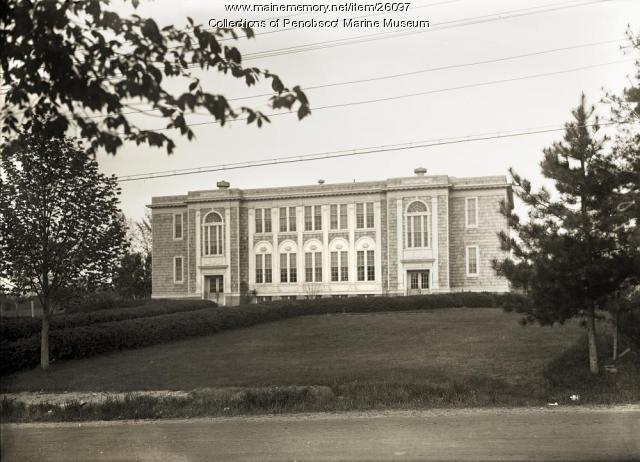 Limerick High School, ca. 1925