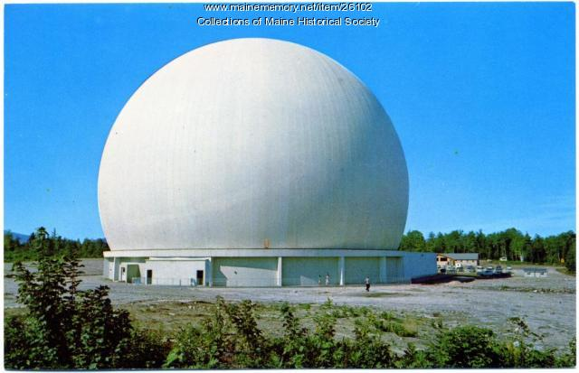 Earth Station Radome, Andover, ca. 1962