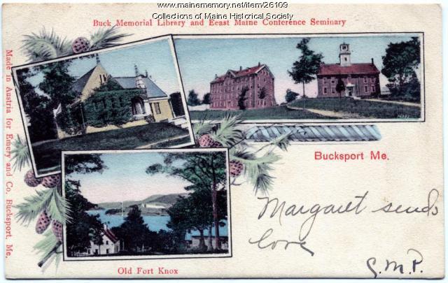 Bucksport scenes, ca. 1905
