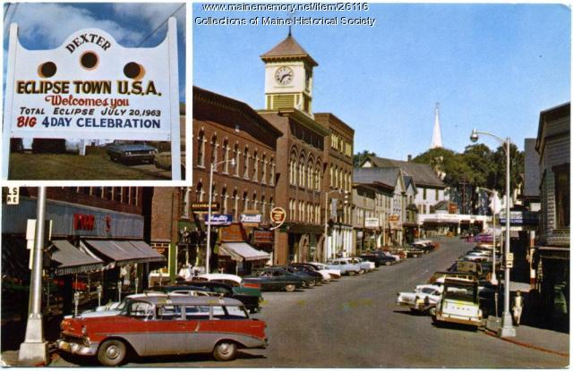 Main Street, Dexter, 1963