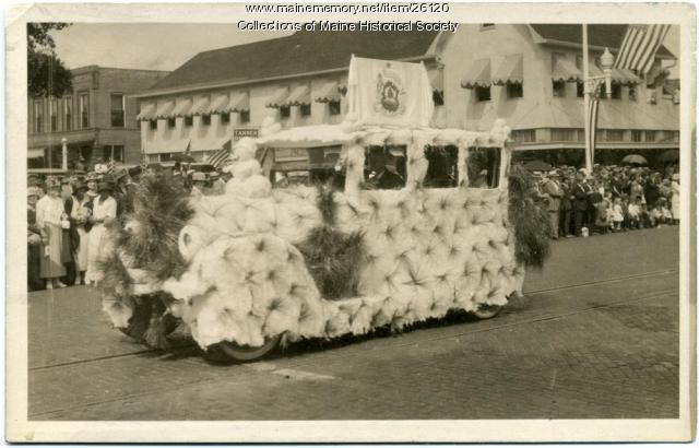 Decorated car, St. Petersburg, Florida, 1924