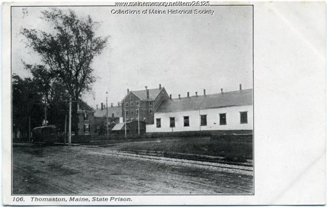 Exterior, Maine State Prison, Thomaston, ca. 1915
