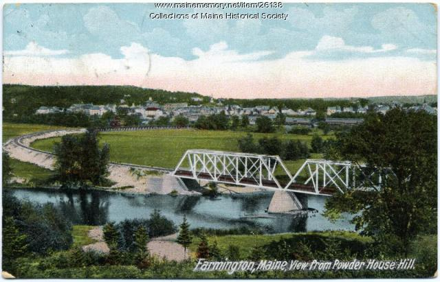 View of Farmington, ca. 1910