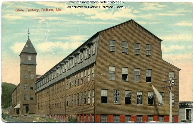 Shoe factory, Belfast, ca. 1925