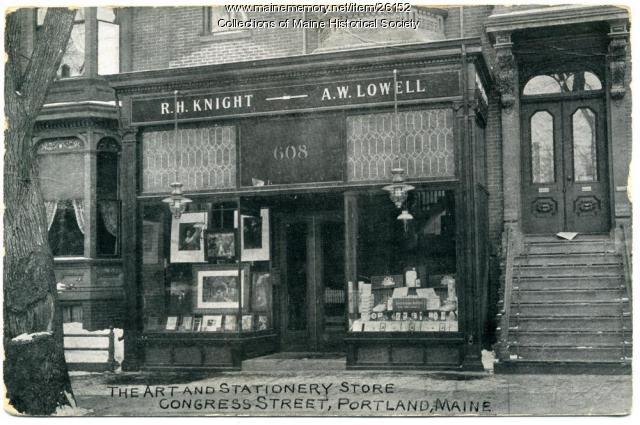 Knight-Lowell store, Portland, ca. 1908