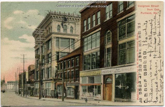 Congress Street, Portland, ca. 1906