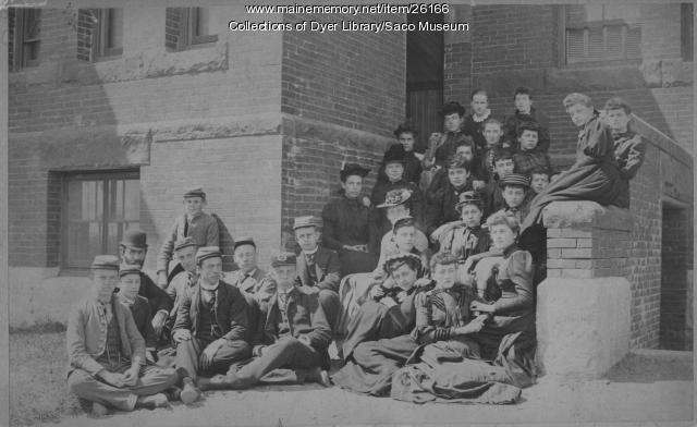 Thornton Academy Students, Saco, ca. 1890