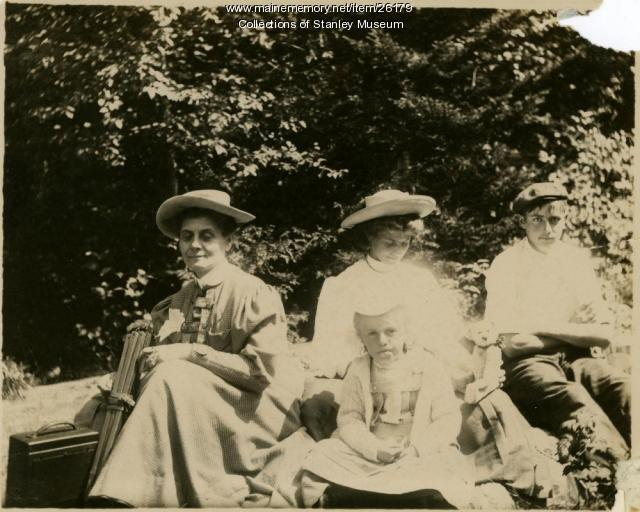 Chansonetta Stanley Emmons, Kingfield, 1907