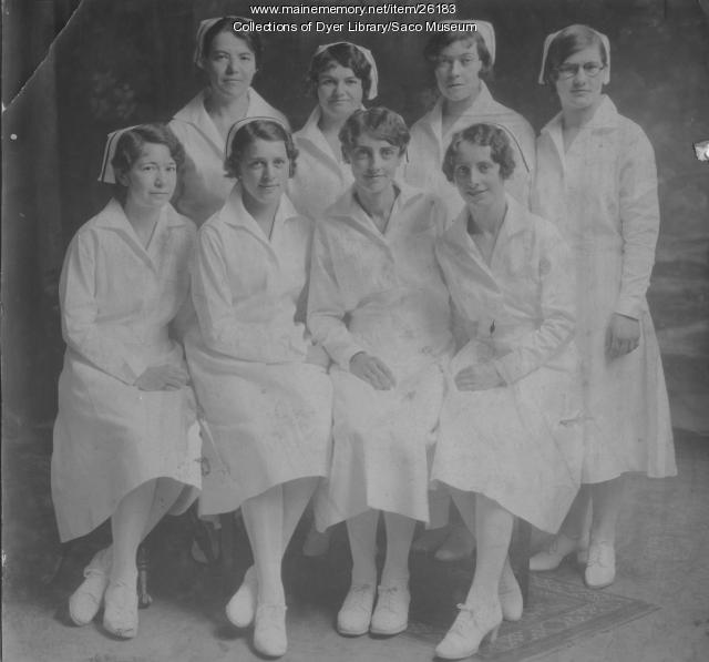 Nurses Graduation, Biddeford, ca. 1930