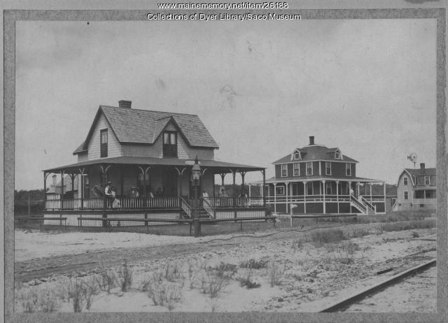 Vacation Cottages at Camp Ellis, ca. 1880
