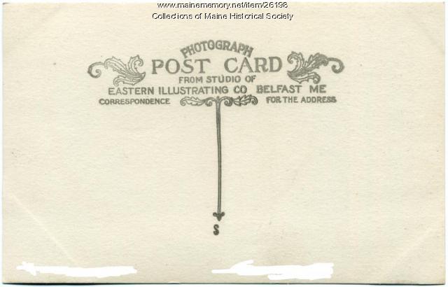 Eastern Illustrating Co. postcard logo