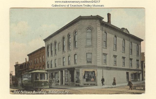 Odd Fellows Building, Biddeford, ca. 1912