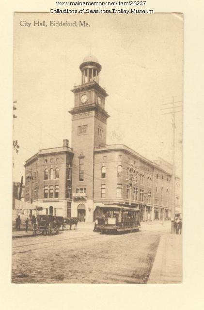 City Hall, Biddeford, ca. 1911