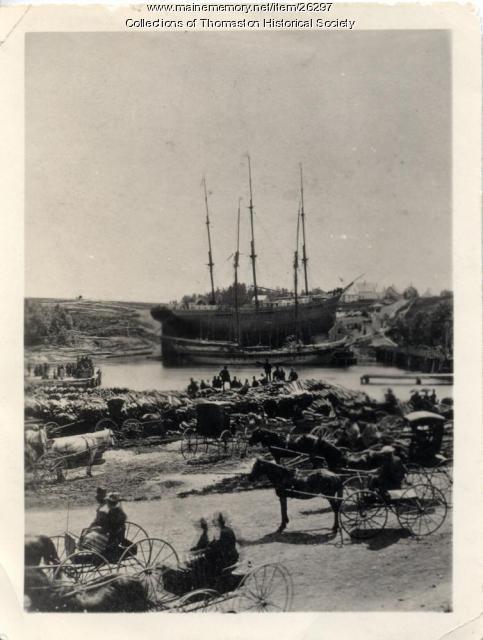 Baring Brothers Launch, Thomaston 1877