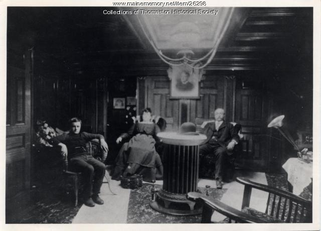 "Captain's Cabin, ""Washington B. Thomas,"" Thomaston, ca. 1903"