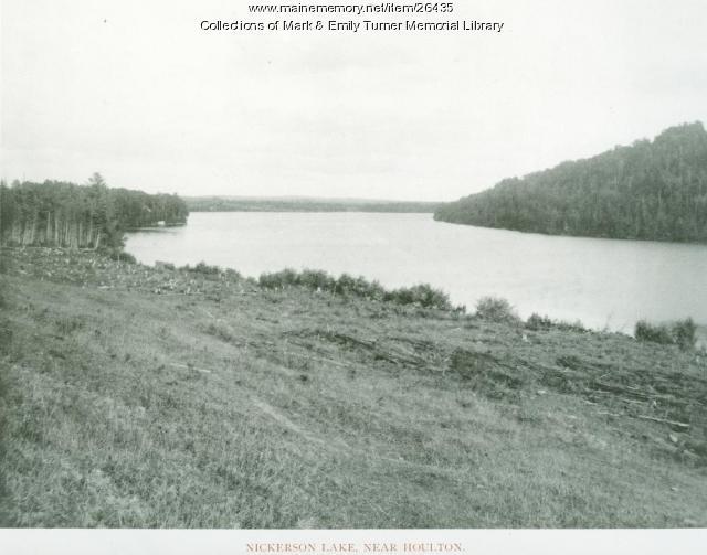 Nickerson Lake, New Limerick, 1895