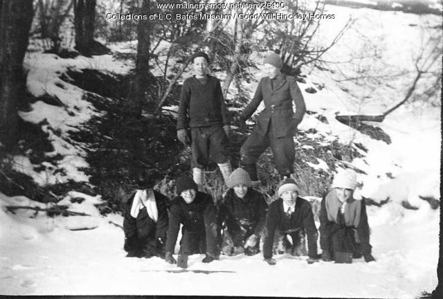 Good will boys playing, Fairfield, ca. 1920