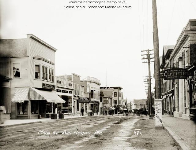 Main Street, Bar Harbor, ca. 1910