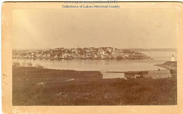 Waterfront from Campobello Island, Lubec, ca. 1890
