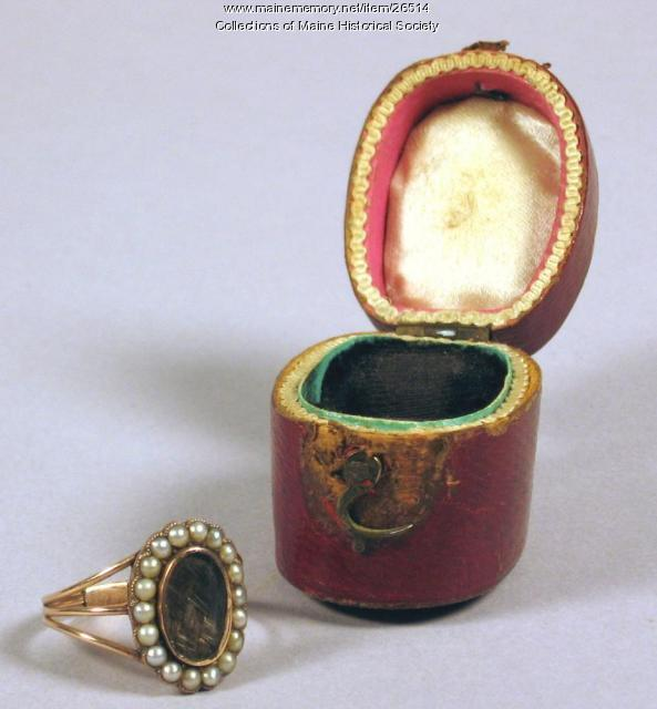 Barrell Family Ring, 1810